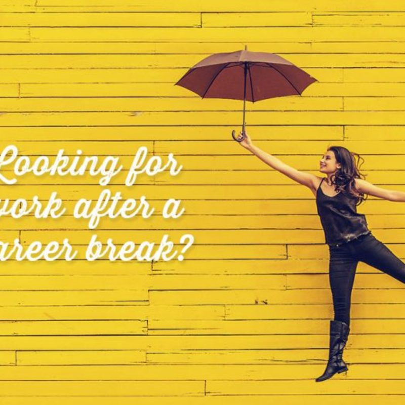 When a career break is a good thing